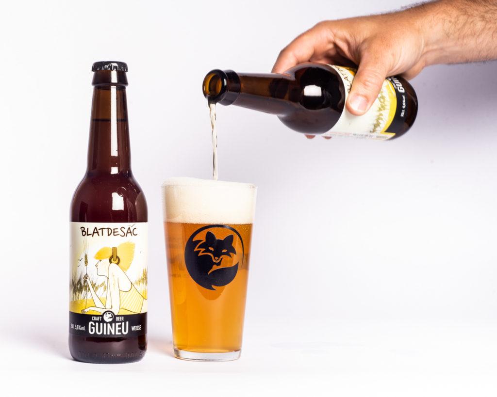 Cervesa artesana Guineu Blatdesac
