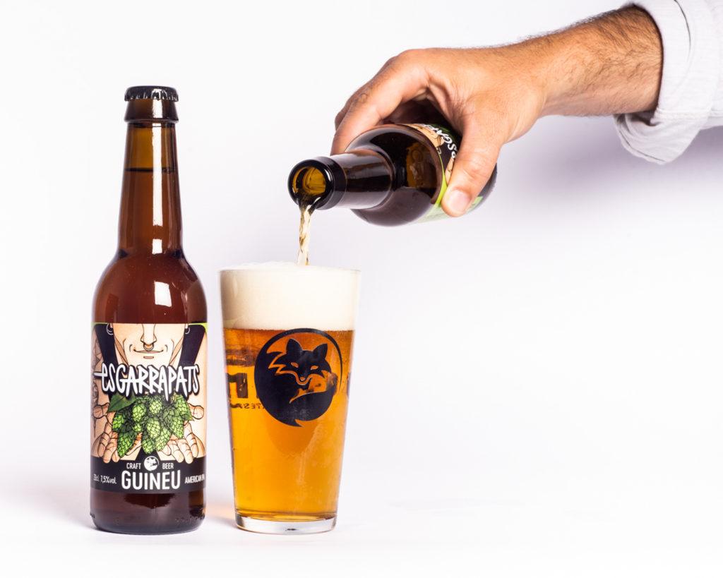 Cervesa artesana Guineu Esgarrapats