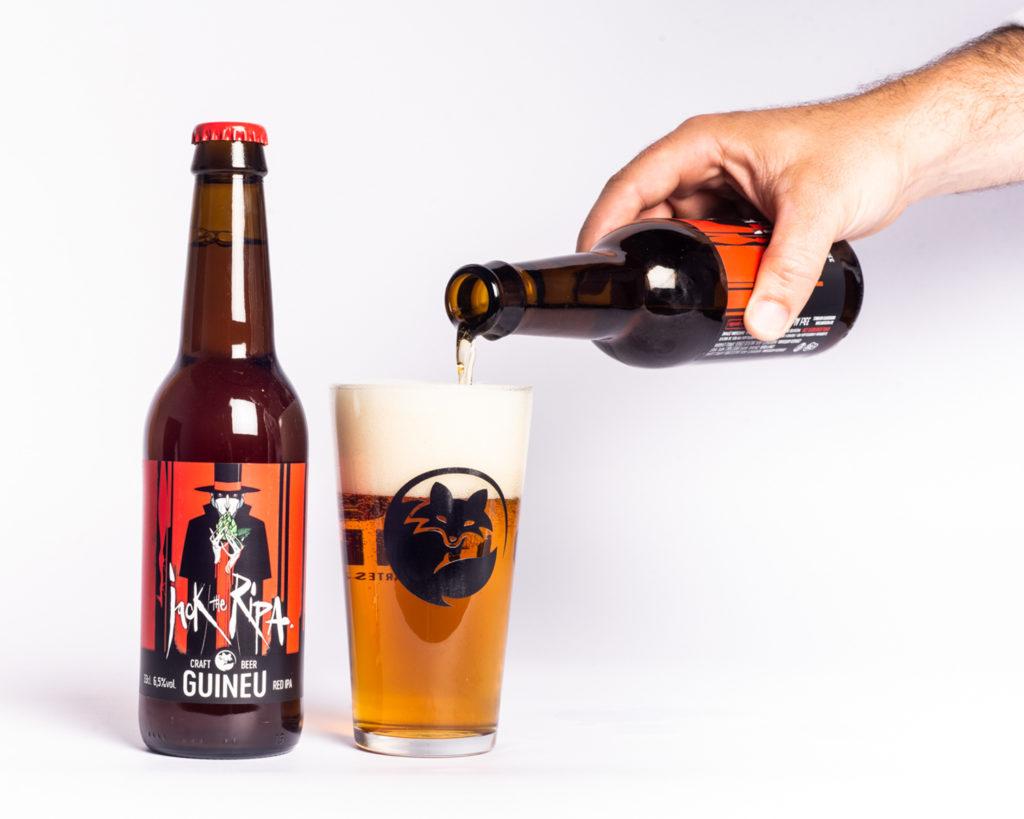 Cervesa artesana Guineu Jack the Ripa