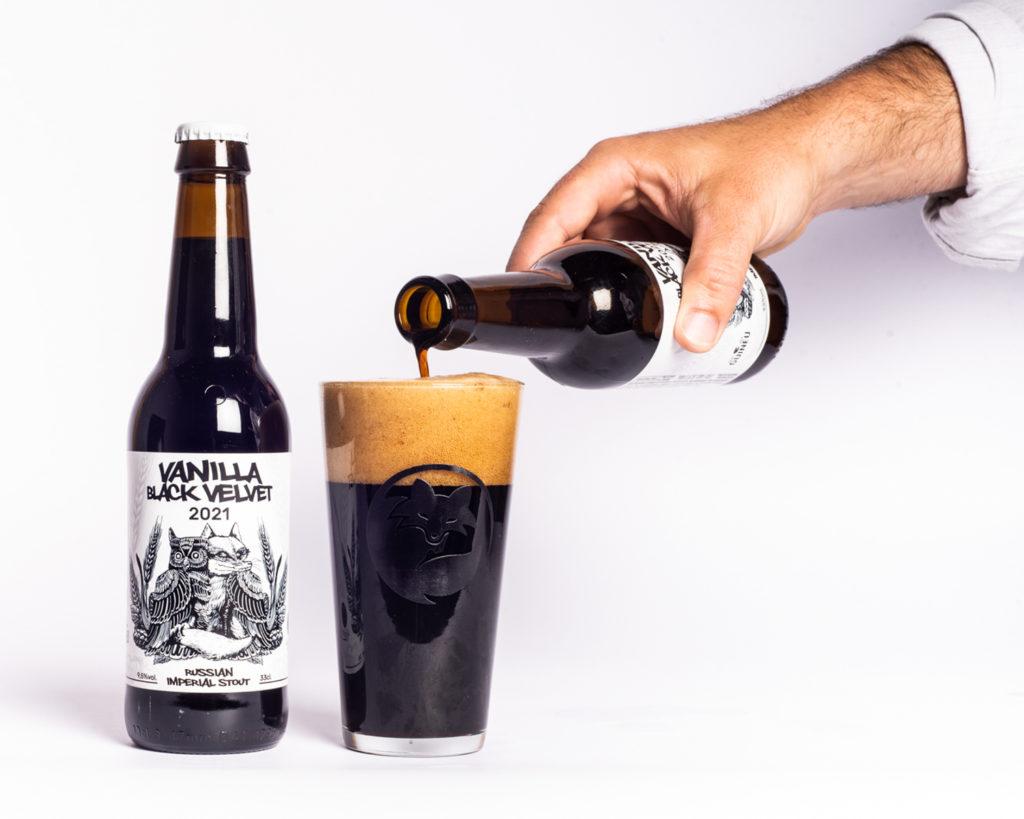 Cerveza artesana Guineu Vanilla Black Velvet