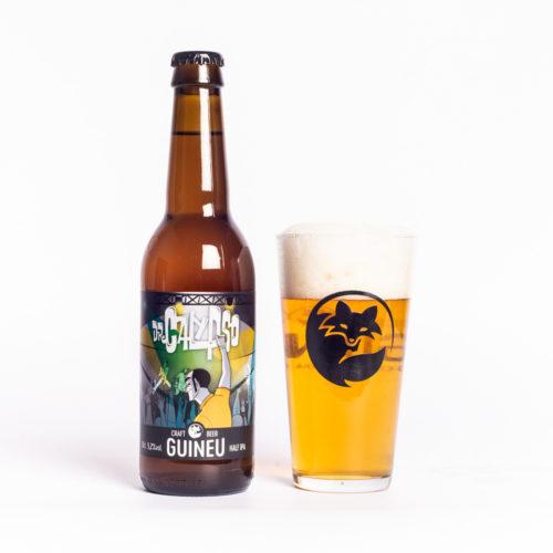 Cerveza artesana Guineu Dr Calypso