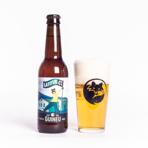 Cervesa Artesana Guineu Latitud 41