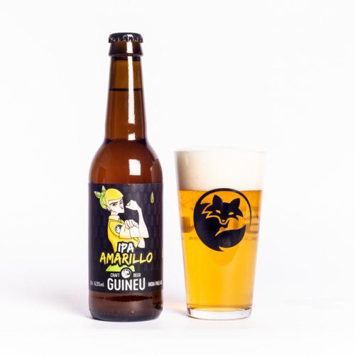 Cerveza artesana Guineu IPA Amarillo