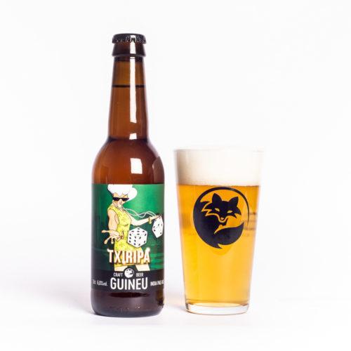 Cervesa artesana Guineu Txiripa
