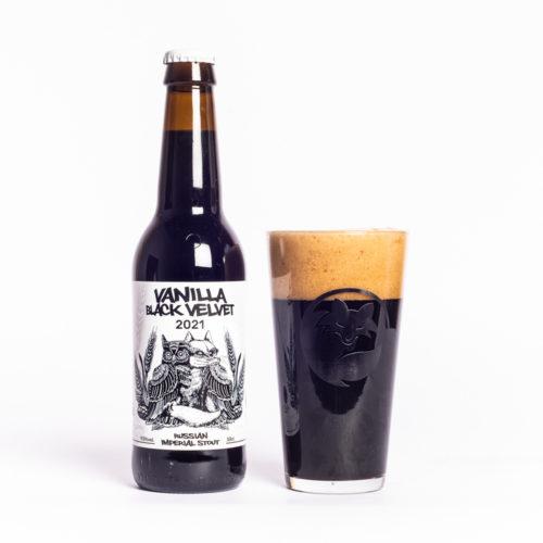 Cervesa artesana Guineu Vanilla Black Velvet