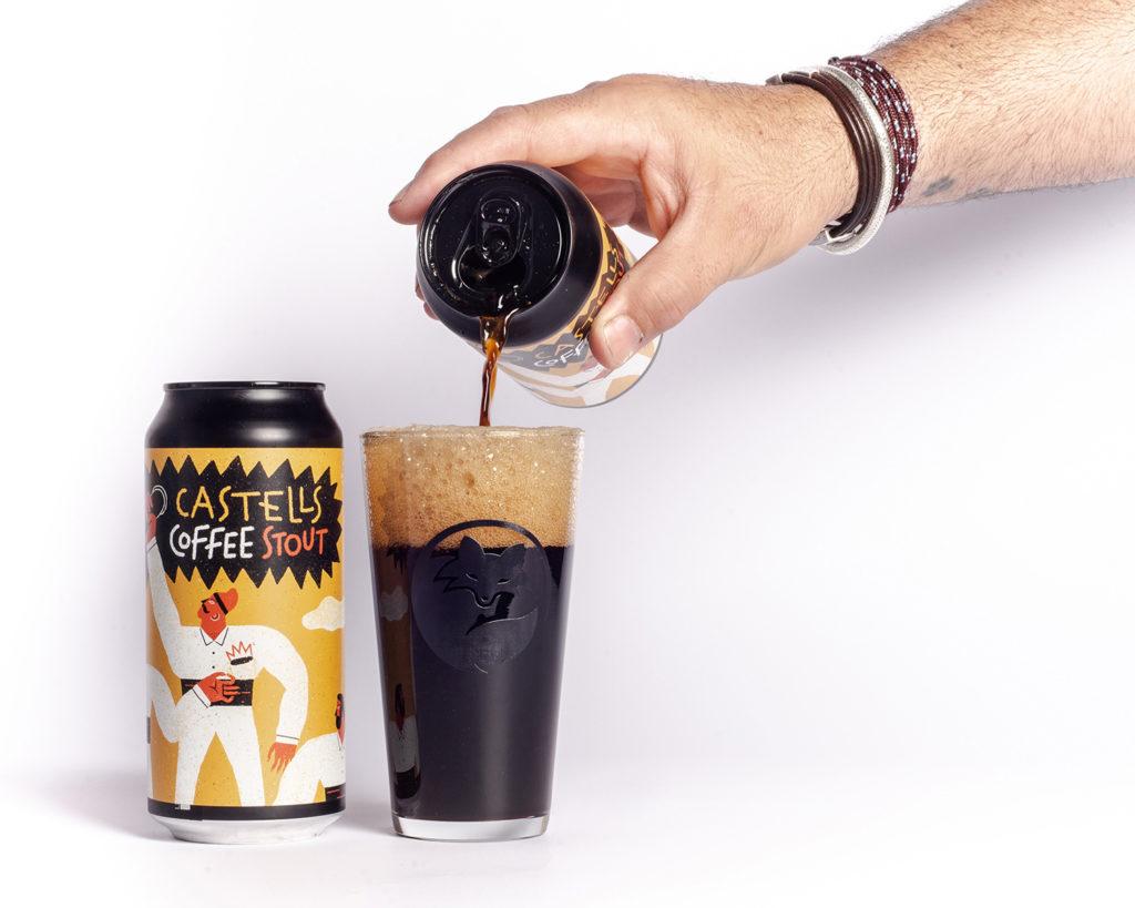 Cerveza artesana Guineu castells