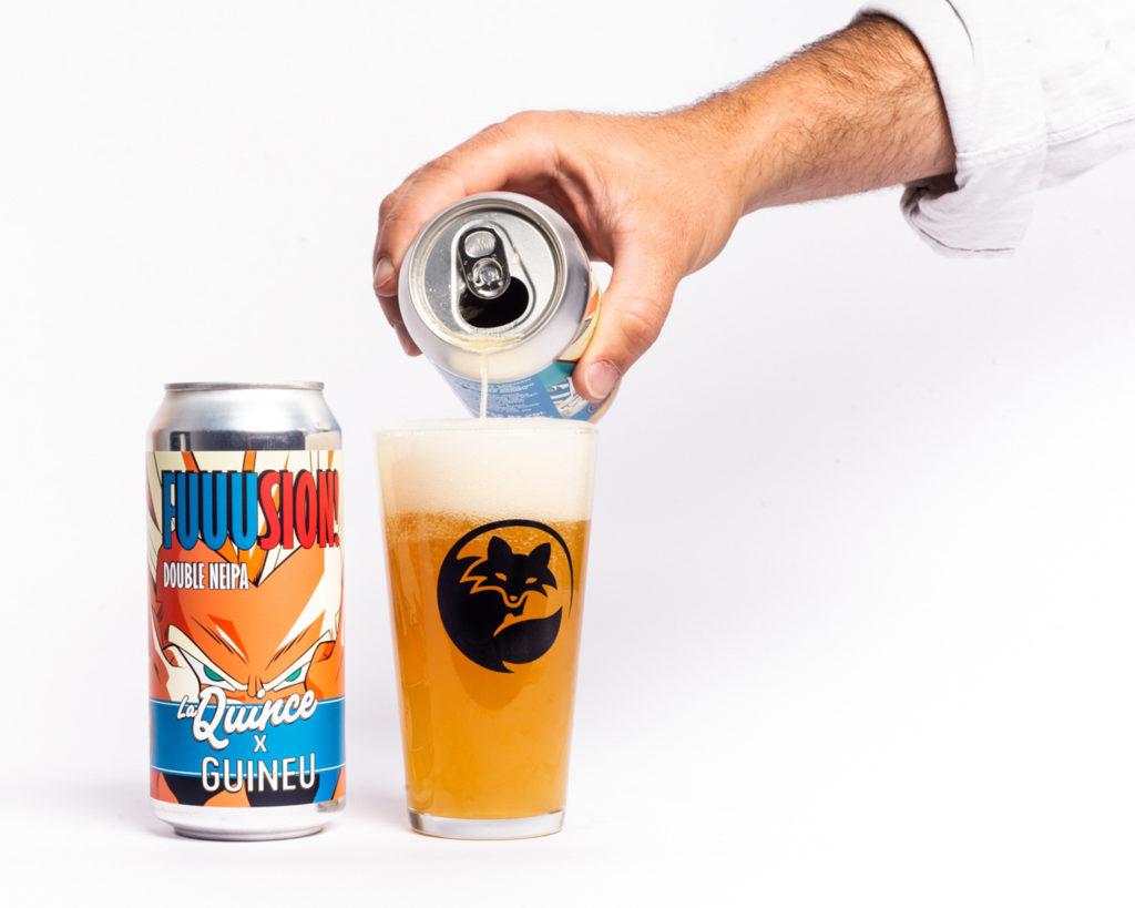 Cervesa Artesana Guineu Fusión