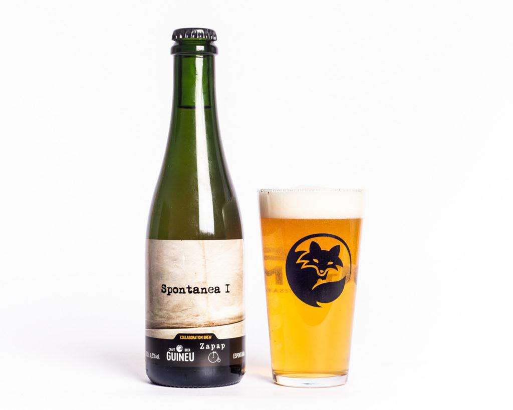 Cervesa artesana Guineu Spontanea I